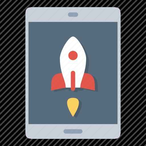 rocket, start, startup, table, takeoff, top icon