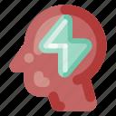 brain, business, creative, flash, industry, internet, startup icon