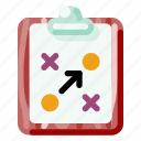 business, clipboard, creative, industry, internet, startup, tactic icon