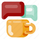 business, coffee time, creative, industry, internet, media, startup icon