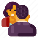 business, creative, industry, internet, job interview, media, startup icon