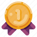 business, creative, industry, internet, medal, media, startup icon