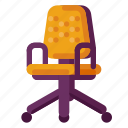business, chair, industry, internet, media, office, startup icon