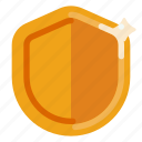 business, creative, industry, internet, media, shield, startup icon