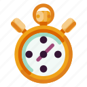 business, creative, industry, internet, media, startup, stopwatch icon