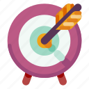 business, creative, industry, internet, media, startup, target icon