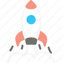 business, launch, rocket, spaceship, start up, startup icon