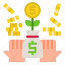 business, finance, growth, investment, money icon