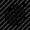 arrow, center, goal, success, target