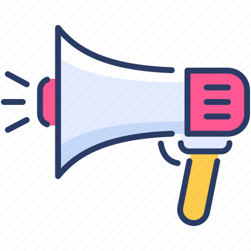 advertising, marketing, media, megaphone, promotion, social icon