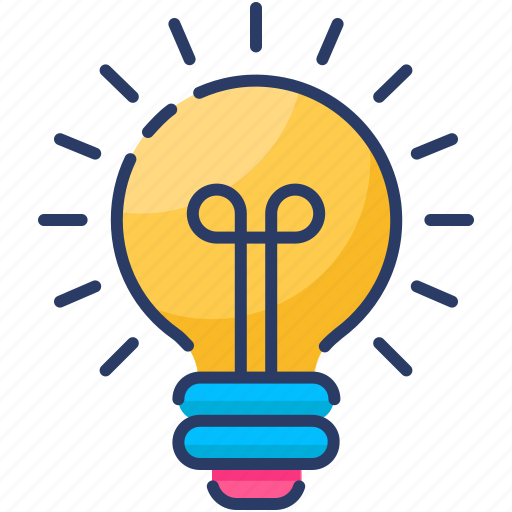 Abstract, bulb, creative, electricity, idea, lamp, light icon - Download on Iconfinder