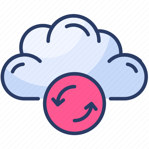 Storage, forecast, cloud, weather, refresh, sync icon - Download on Iconfinder