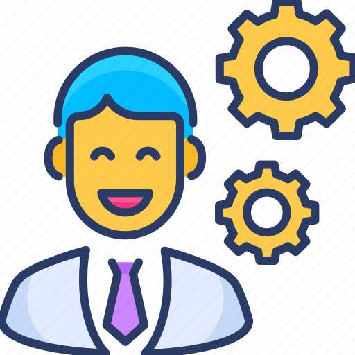 Business, creative, manager, manufacturing, modern, production, worker icon - Download on Iconfinder