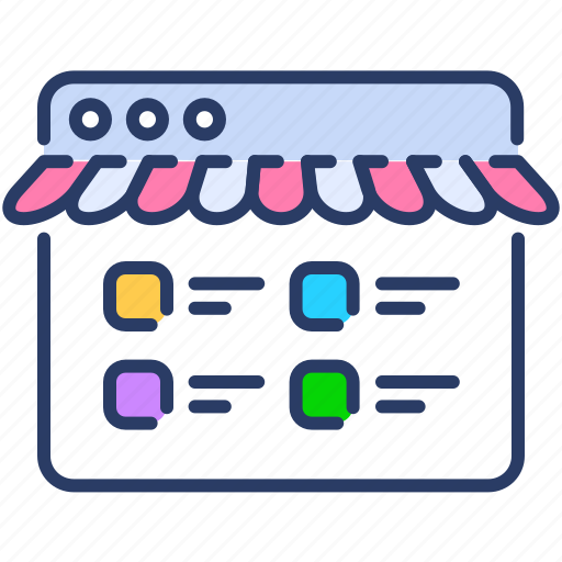ecommerce, online, shop, shopping, shopping store, store icon