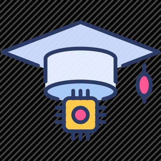 cap, education, graduate, graduate cap, knowledge, learning, study icon