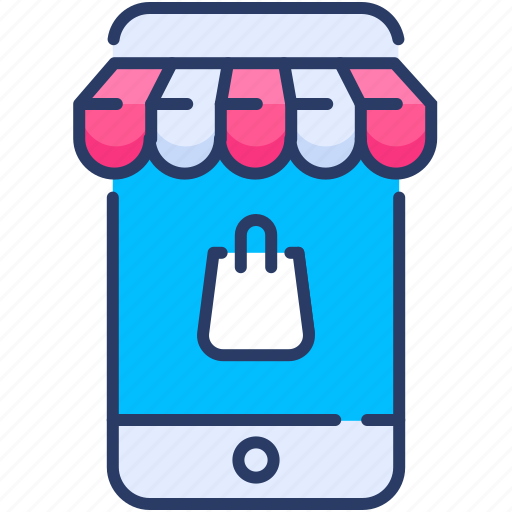 Commerce, device, ecommerce, mobile, phone, shop, smartphone icon - Download on Iconfinder
