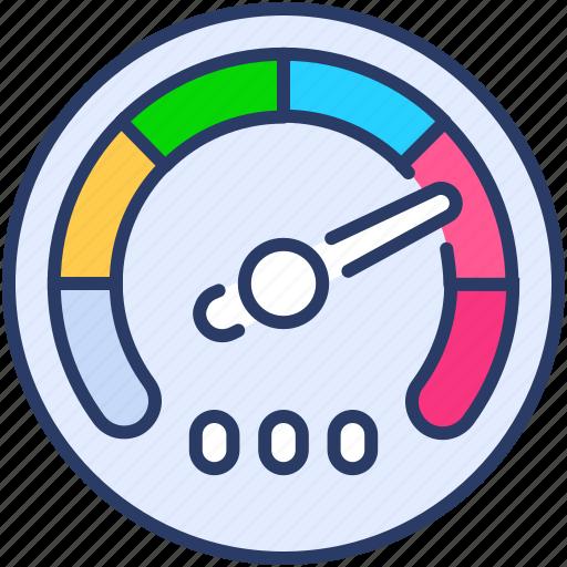 Dashboard, fast, gauge, performance, speed, speedometer, traffic icon - Download on Iconfinder