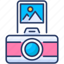 camera, image, photography, picture, print, still icon