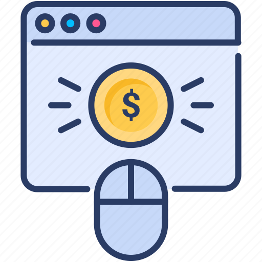 Click, money, mouse, pay, per, ppc, web icon - Download on Iconfinder