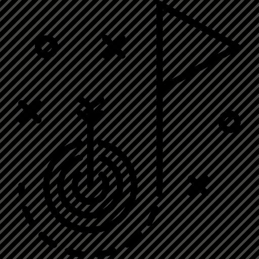 Goal target, marketing, plan, startup, strategy icon - Download on Iconfinder