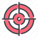 aim, bullseye, focus, goal, hit, success, target