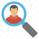 headhunting, job hiring, recruitment, reinforcement, talent search icon