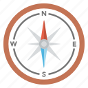 compass, direction finding, finding destination, navigation compass, travelling device icon