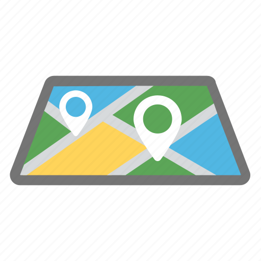 destination address finder, gps, location pin, map and destination, placeholder icon