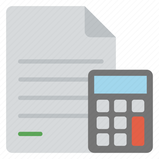 accounting, accounts management, bookkeeping, business financing, calculation icon