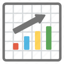 analytics, bar chart, bar graph, growth chart, infographic icon