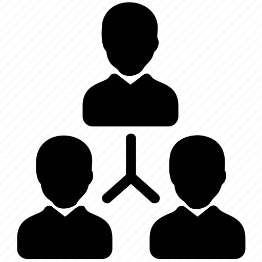 business administration, management leadership, organizational leadership, task delegation, team leader icon