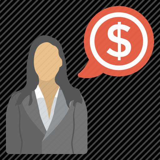 banker, business advice, entrepreneur, financial advisor, investor icon