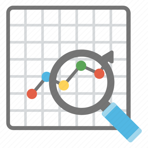 business forecasting, market analysis, market research, market survey, sales forecasting icon