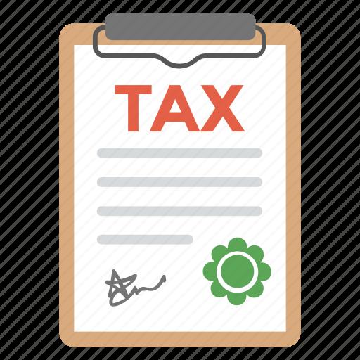 asset and liabilities, property tax, tax document, tax return, taxation icon