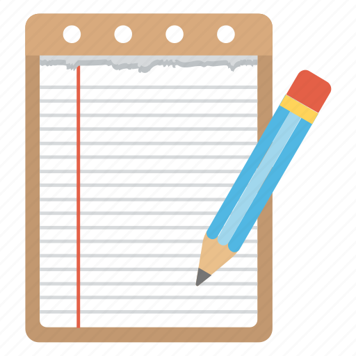 memo book, notebook, notepad, notes, writing pad icon
