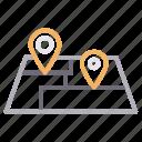 destination, finder, gps, location, map icon
