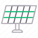 electricity, energy, panel, power, solar icon