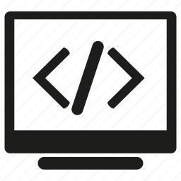 coding, computer, programming icon