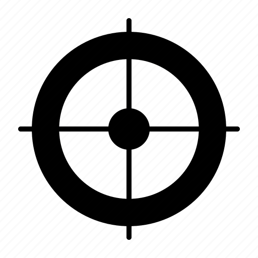 Aim, business, crosshair, goal, seo, startup, target icon - Download on Iconfinder