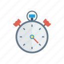 alarm, alert, clock, stopwatch, timer icon