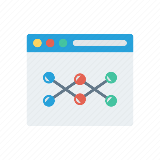 analytic, browser, internet, statistic, webpage icon