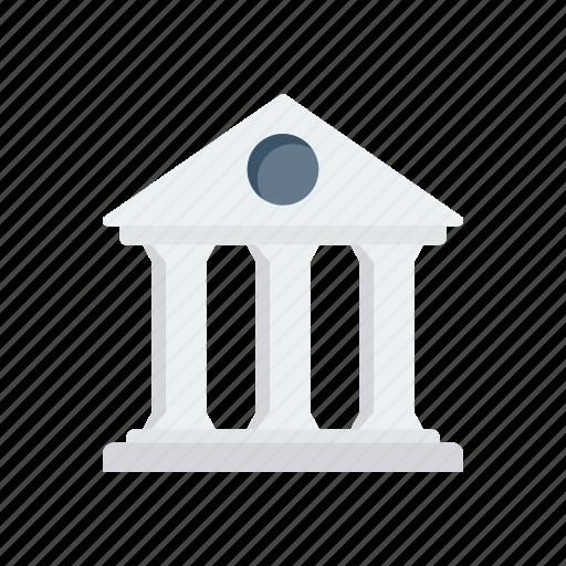 bank, building, estate, finance, saving icon