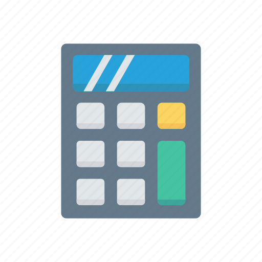 accounting, calculation, calculator, machine, mathematics icon