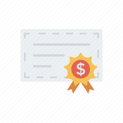 bill, cheque, finance, money, payment icon