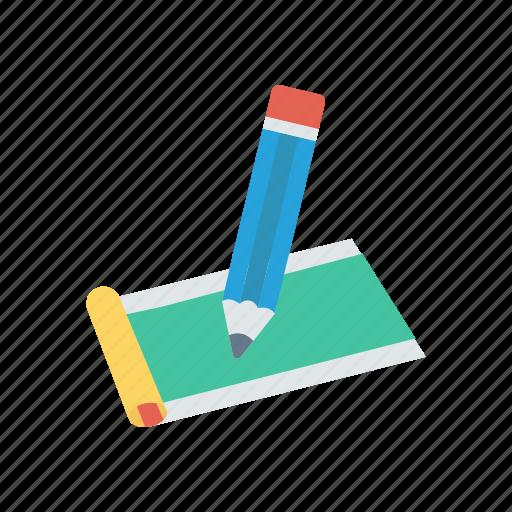 Cheque, pen, pencil, signature, write icon - Download on Iconfinder