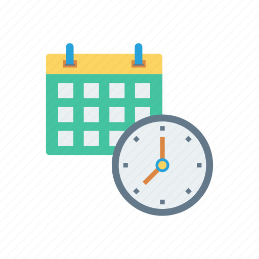 Date, calendar, deadline, business, time icon