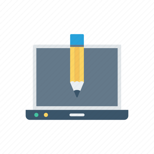 Design, device, drawing, laptop, pencil icon - Download on Iconfinder