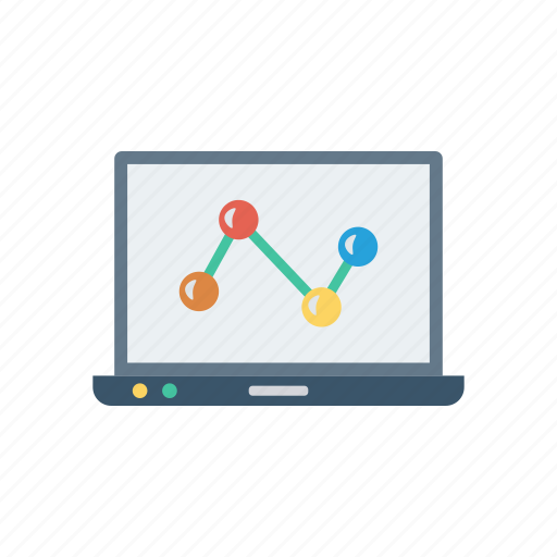 connect, device, gadget, laptop, network icon