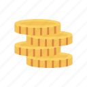 cash, coins, dollar, earning, finance icon