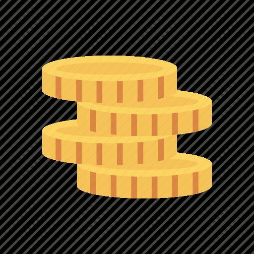 cash, coins, dollar, earning, finance icon
